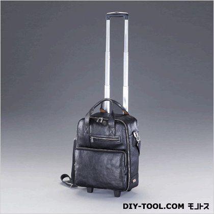 キャリーバッグ(本革製) ブラック 500x270x344mm (EA927TG-1)
