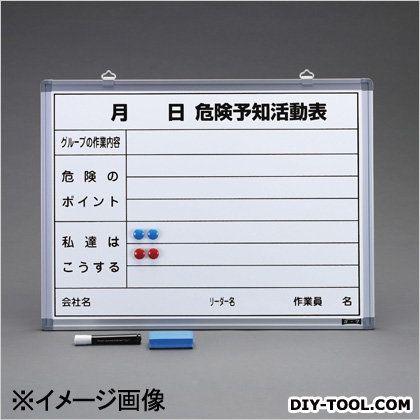 危険予知活動ボード 450x600mm (EA761LC-20)