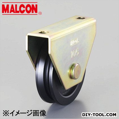 [V型]重量戸車 150mm/2000kg (EA986VE-150)