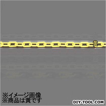 プラスチックチェーン 黄 8.0mmx30m (EA980A-62B)
