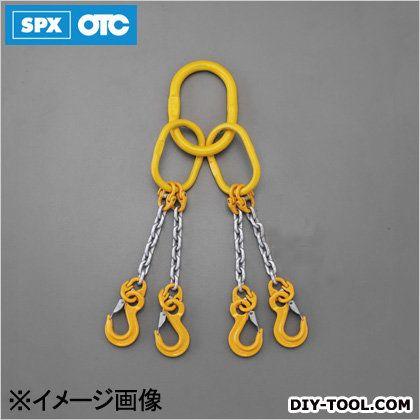 [4本懸け]スリングチェーン 2.75tonx1.5m (EA981VE-11A)