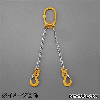[2本懸け]スリングチェーン 1.8tonx1.5m (EA981VD-21A)