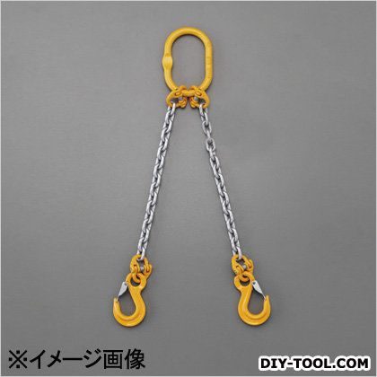 エスコ/esco [2本懸け]スリングチェーン 2.7tonx3.0m EA981VD-47A