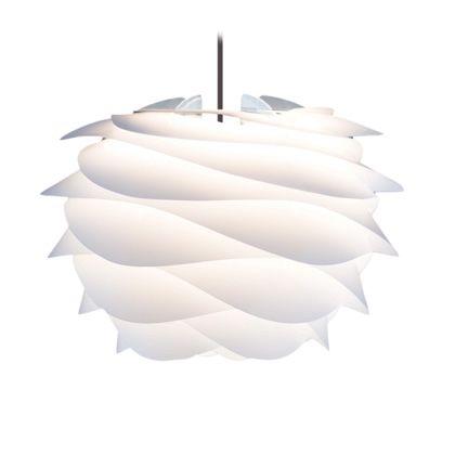 VITA インテリア輸入照明 CARMINA mini ペンダント1灯 ホワイト/ブラックコード (02057-BK)