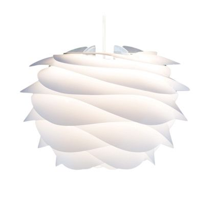 VITA インテリア輸入照明 CARMINA mini ペンダント1灯 ホワイト/ホワイトコード (02057-WH)