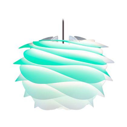 VITA インテリア輸入照明 CARMINA mini ペンダント1灯 ターコイズ/ブラックコード (02059-BK)