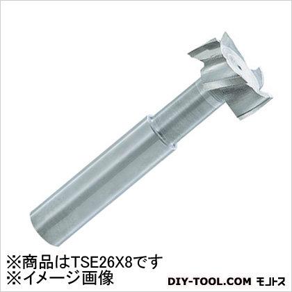 FKD Tスロットエンドミル 26×8 (TSE26X8) 旋盤用アクセサリ 旋盤用 旋盤 アクセサリ アクセサリー 刃物 旋盤用アクセサリー