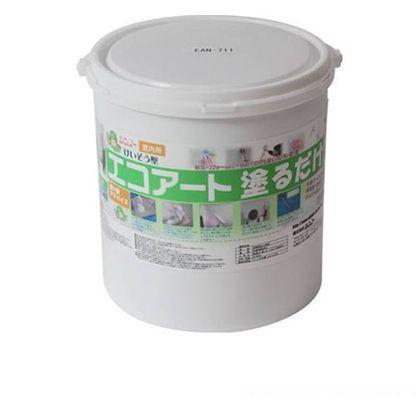 シンコー エコアート塗るだけ 珪藻土 (内装専用塗り壁材) フローラルホワイト 18kg EAN711 壁材 リフォーム diy