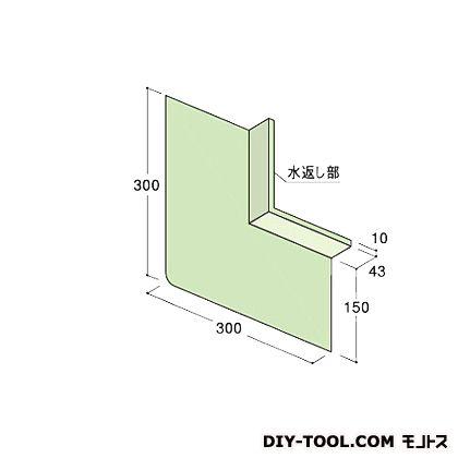 フクビ化学工業 ウェザータイト サッシ用 中間部材 グリーン半透明 巾150×長さ1700mm×奥行き43mm (WTS) 20本