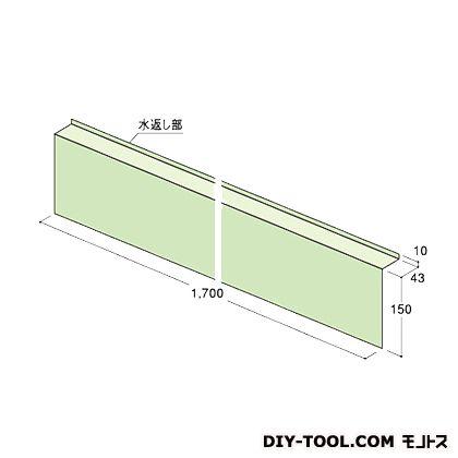 フクビ化学工業 ウェザータイトサッシ用角部材R グリーン半透明 巾300×高さ300mm×奥行き43mm (WTSKR) 40個