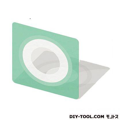 フクビ化学工業 ウェザータイトパイプ用φ150用 グリーン半透明 255×255mm (WTP150) 40個