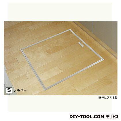 フクビ化学工業 床下点検口ATD シルバー 619×619×143mm(外寸) (ATD60S)