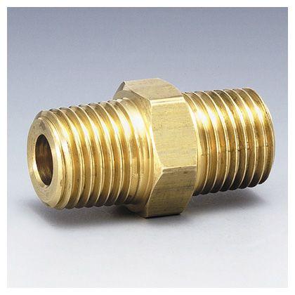 フローバル 黄銅製ねじ込み継手 六角ニップル G6N ネジ 2 品質保証 :1 ☆最安値に挑戦 R G6N-04-BS
