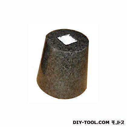 フチオカ 御影石柱受け 黒丸7寸 黒 上210×下280×高200 (F-M7-BK)