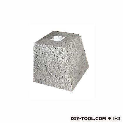フチオカ 御影石柱受け 白角5寸 白 上150×下210×高200 (F-K5-WT)