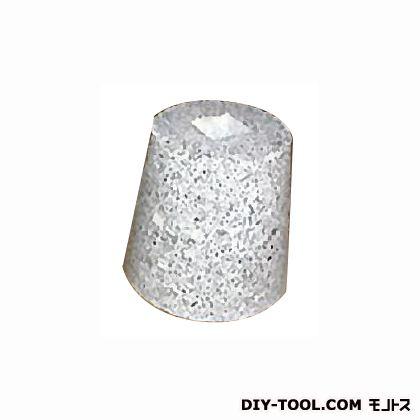 フチオカ 御影石柱受け 白丸5寸 白 上150×下210×高200 (F-M5-WT)