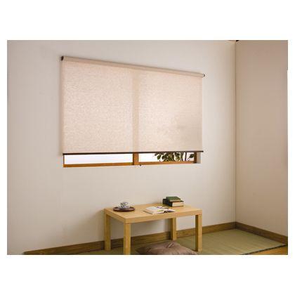 フルネス アルティス 自然調 (ロールスクリーン) 301/麻調 W165×H220cm (L2575)