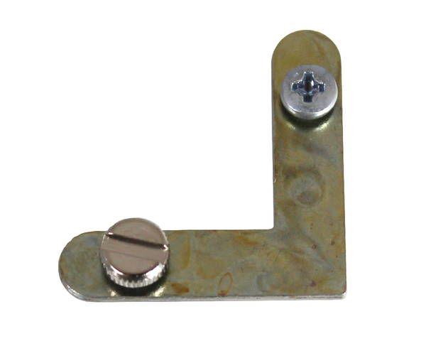 アルミ額用鉄L金具 30×7.5mm (6279-B) 1000個