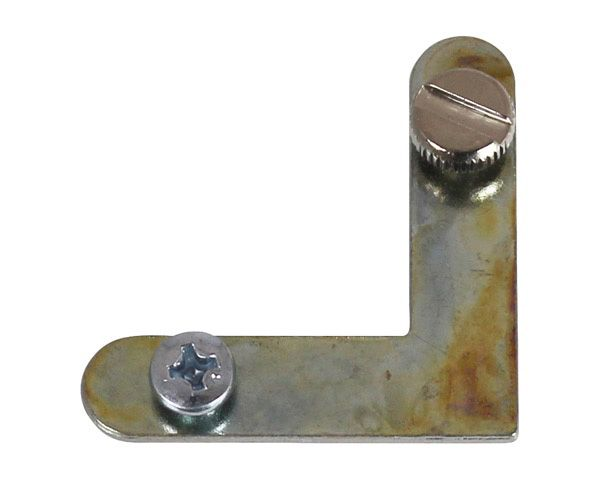 アルミ額用鉄L金具 30×7.5mm (6279-C) 1000個