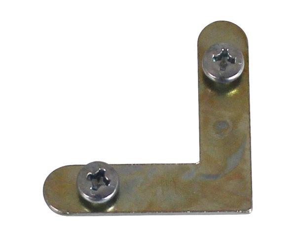アルミ額用鉄L金具 30×7.5mm (6279-A) 1000個