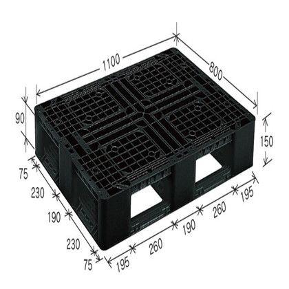 岐阜プラスチック工業 リスパレット Jタイプ グレー J-D4-1108