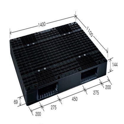 岐阜プラスチック工業 リスパレット Jタイプ グレー J-R2-1114C