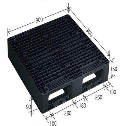 岐阜プラスチック工業 リスパレット JLタイプ グレー JL-D2-0909