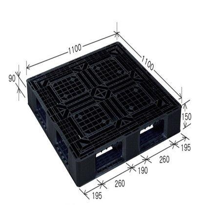 岐阜プラスチック工業 リスパレット JLタイプ ブラック JL-D4-1111G