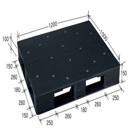 岐阜プラスチック工業 リスパレット JCタイプ グレー JC-D4-1210