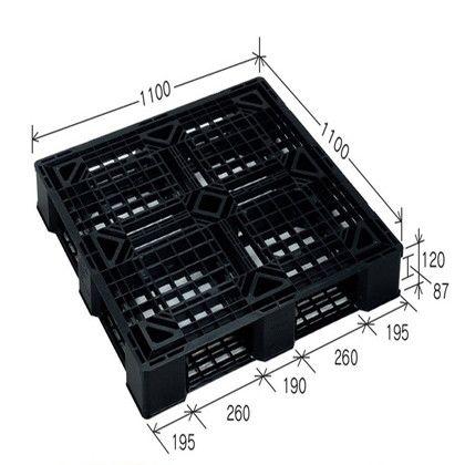 岐阜プラスチック工業 リスパレット JLタイプ ブラック JL-D4-1111E4