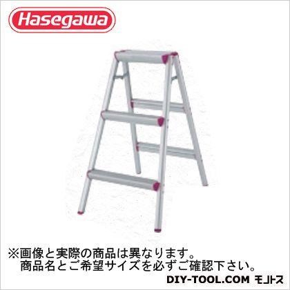 長谷川工業 踏台 レッド(15222) 天板高さ0.79m (SE-8R) 長谷川工業 脚立 踏み台 踏台