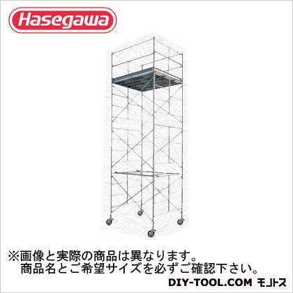 上品 (BM-6段):DIY ローリングタワー 全高(m):10.25 高所作業台 ONLINE (10807) 長谷川工業 SHOP 幅広タイプ FACTORY-DIY・工具