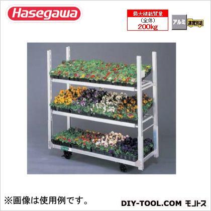 長谷川工業 アルミ花卉台車 フローラルカーゴ(R)シリーズ (12433) (ND-1615N)