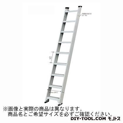 長谷川工業 1連はしご 踏桟幅広タイプ 16909 3.38m (FLW2.0-330)