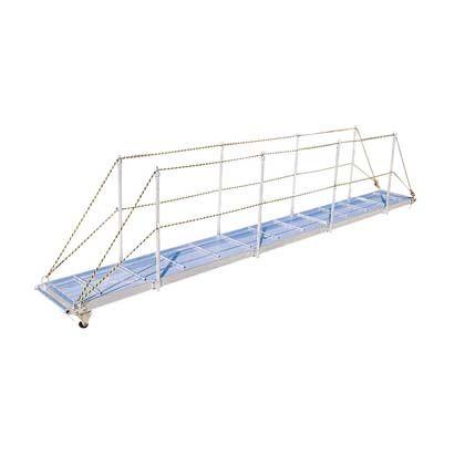 長谷川工業 歩み板 ワーフラダー シルバー W400×H3000 WL-34