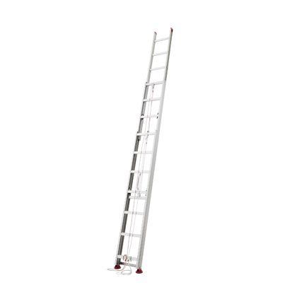 長谷川工業 サヤ管型3連はしご シルバー 全長9800 HD3 2.0-98
