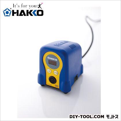 白光 ハッコーFX-888D100V2極接地型プラグ ブルー/イエロー FX888D-01BY