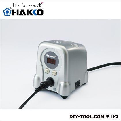 白光/HAKKO ハッコーFX-888D100V2極接地プラグ シルバー FX888D-01SV