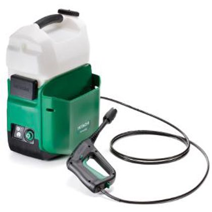 HiKOKI(日立工機) 日立14.4Vコードレス高圧洗浄機本体のみ L×W×H(mm):320×290×500 AW14DBL (NN)