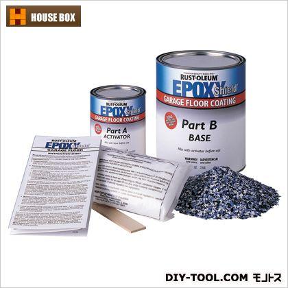 ラストオリウム エポキシシールドコンクリートフロアコーティングキット グレー 19010100