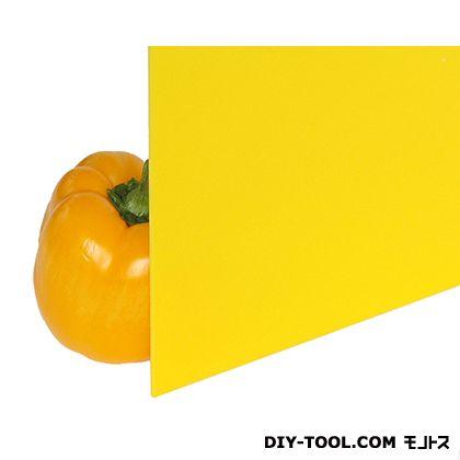 光 アクリル板 黄色 2×1100×1300mm A265-2UL   0
