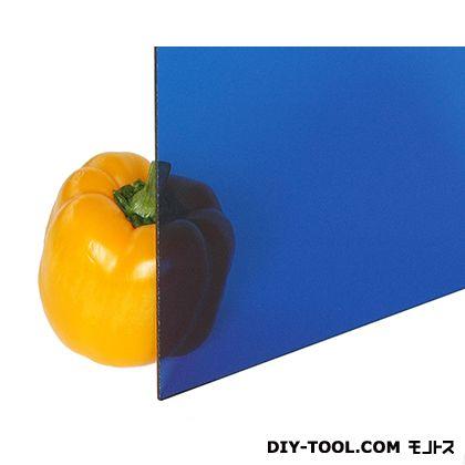 光 アクリル板 ブルー透明 2×1100×1300 A703-2UL   0