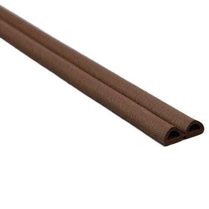 光 D型戸当防音テープ 茶 6mm×9mm×50m巻 (KD8-50W)