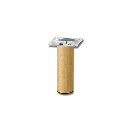 光 家具用丸脚 新着セール 木製 32.8×100mm 信憑 パーツ テーブル脚 KSW-3310 1本