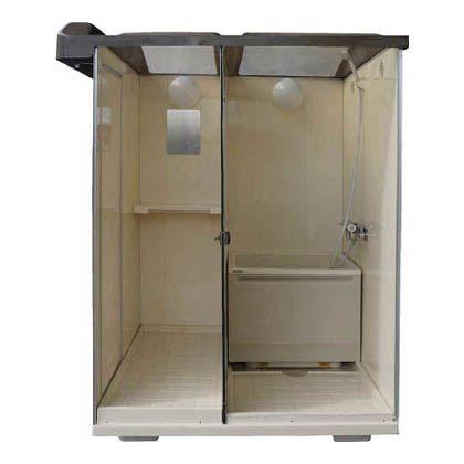 日野  屋外用バスシャワー 浴槽付 (NB-1515G)