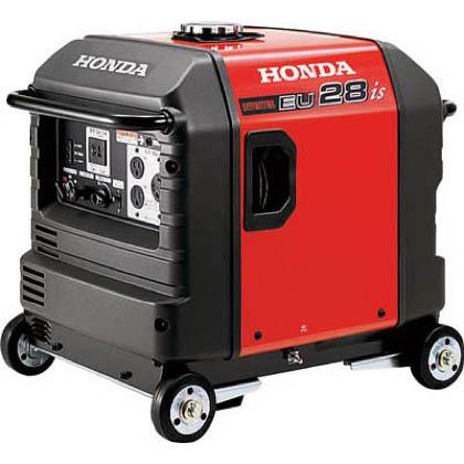 本田技研工業 HONDA 防音型インバーター発電機 2.8kVA(交流/直流)セル付/車輪付 EU28IS1JNA3 1台  EU28IS1JNA3 1 台