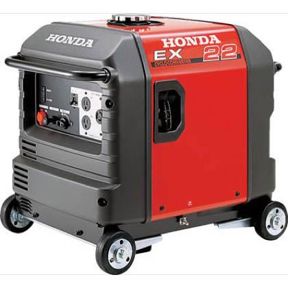 本田技研工業 HONDA 防音型発電機 2.2kVA(交流専用)車輪付 EX22K1JNA3 1台  EX22K1JNA3 1 台