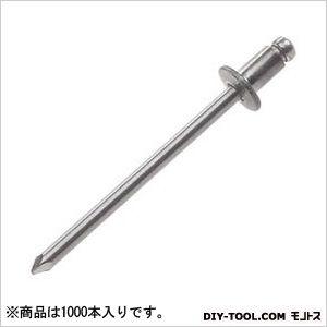 ヒット ブラインドリベット ステンレスフランジステンレスシャフト 100 x 150 x 110 mm HTT48 1000本
