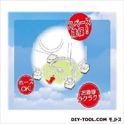 因幡電工 洗濯機用防振かさ上げ台ふんばるマン 高さ60mm 驚きの値段で 舗 ホワイト 1点 OP-SG600