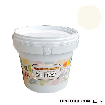 エアフレッシュ ハイブリット型光触媒内装用塗料 ミルクホワイト 4kg イサム塗料 塗料 水性塗料